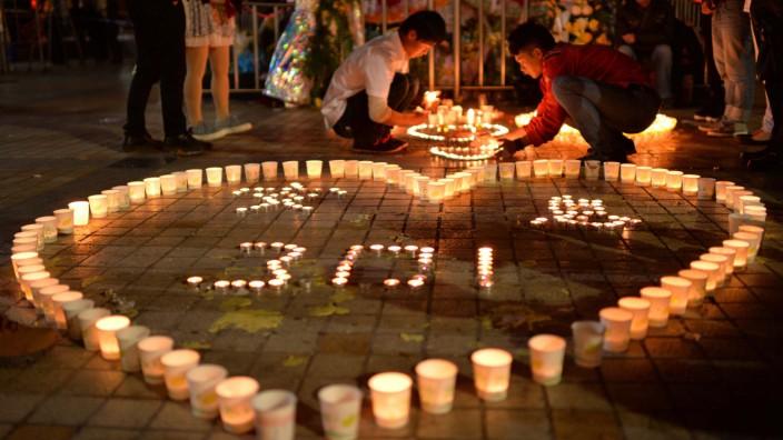 """Terroranschlag in Kunming: Der Schock reicht tief: Analog zu """"9/11"""" wird der Anschlag in Kunming in China vielfach schon als """"3/01"""" bezeichnet."""