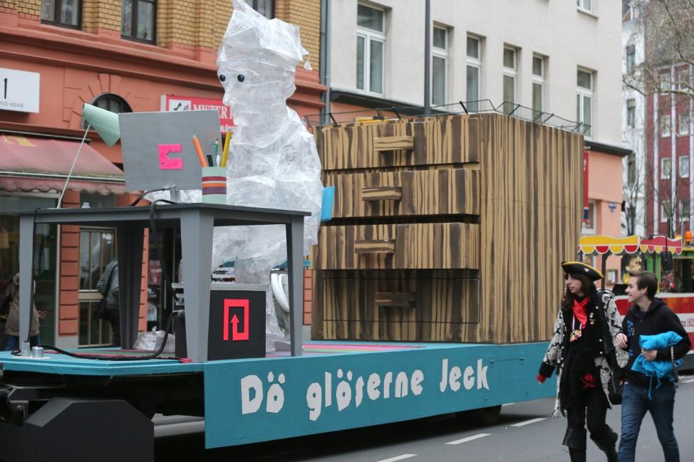 Rosenmontagszug in Köln