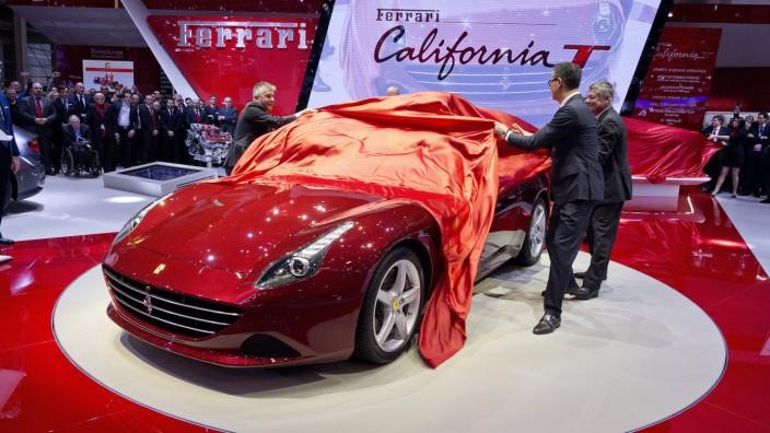 Ferrari California T auf dem Genfer Autosalon 2014