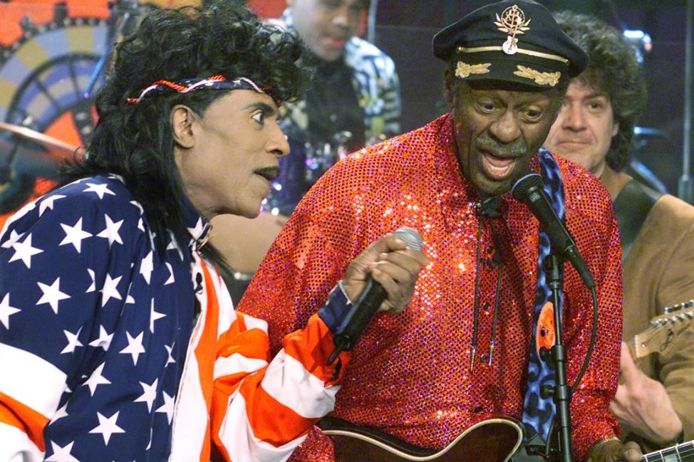 Little Richard und Chuck Berry in der Tonight Show