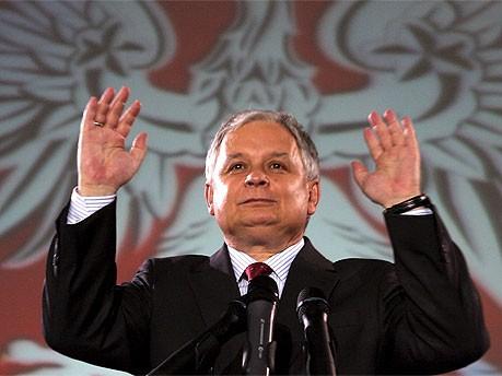 Lech Kaczynski; dpa