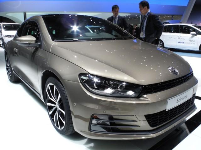 Der VW Scirocco auf dem Auto-Salon Genf 2014