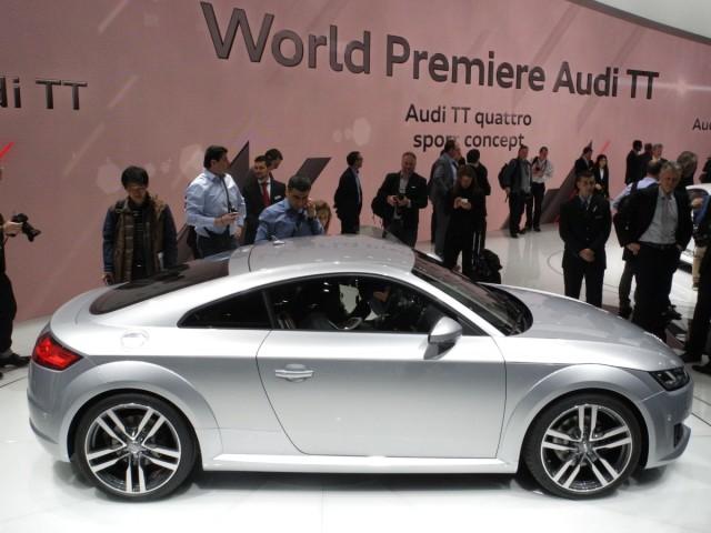 Der neue Audi TT auf dem Auto-Salon Genf 2014