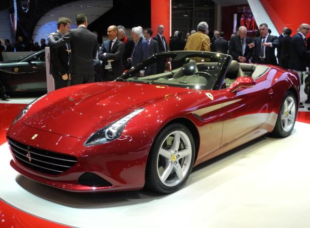 Der Ferrari California T auf dem Auto-Salon Genf 2014