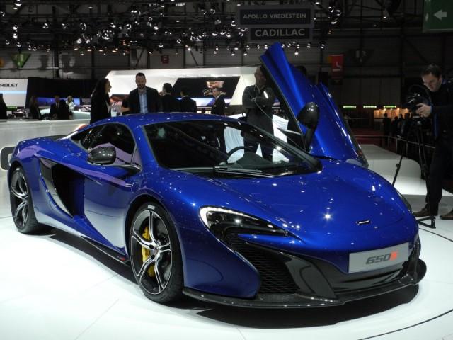 Der McLaren 12C auf dem Auto-Salon Genf 2014