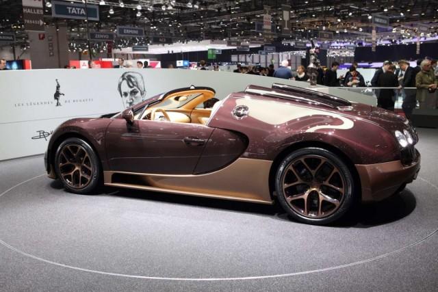 Der Rembrandt Bugatti auf dem Auto-Salon Genf