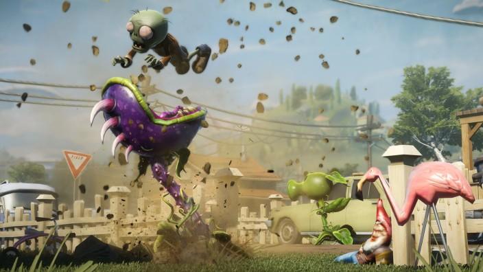 Plants Vs Zombies Garden Warfare Verrohen Durch Rohkost