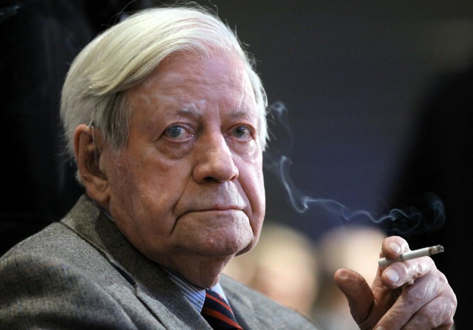 Helmut Schmidt wird 95