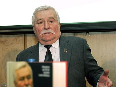 Lech Walesa, AFP