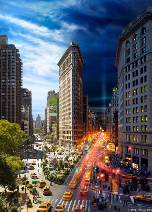 New York Day to Night