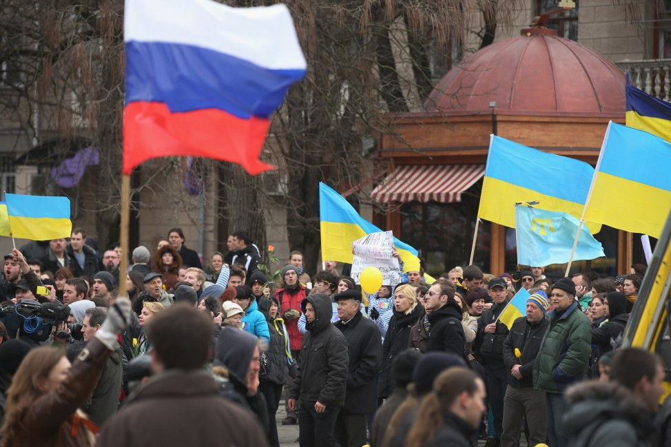Ukraine Crisis Continues As The Crimea Prepares To Vote In The Referendum