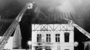 15 Jahre nach dem Anschlag von Solingen: 29. Mai 1993: In diesem Fachwerkhaus in Solingens Unterer Wernerstraße haben bei einem ausländerfeindlichen Brandanschlag fünf Menschen ihr Leben verloren.