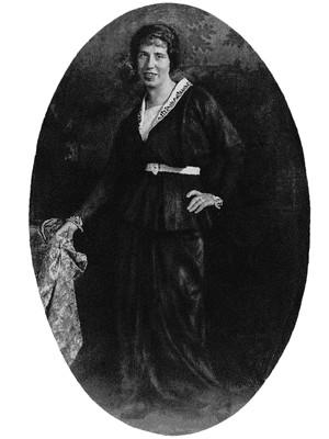 Felice Bauer, 1914, Foto: © S. Fischer Verlag