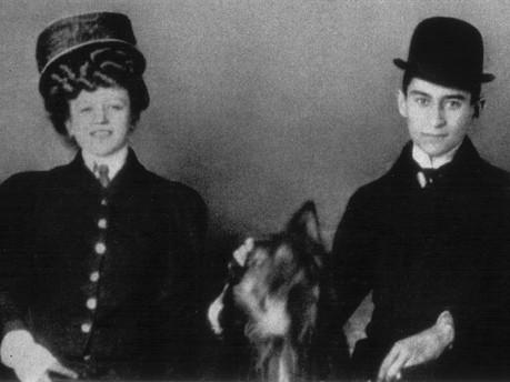 Hansi Juliane Szokoll und Franz Kafka, Foto: © Max-Brod-Archiv, Tel Aviv