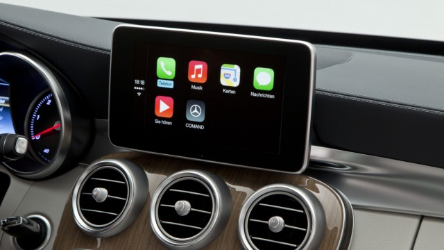 Apply CarPlay in der Mercedes C-Klasse