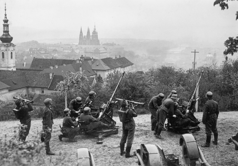 Deutsche Truppen in Prag, 1939