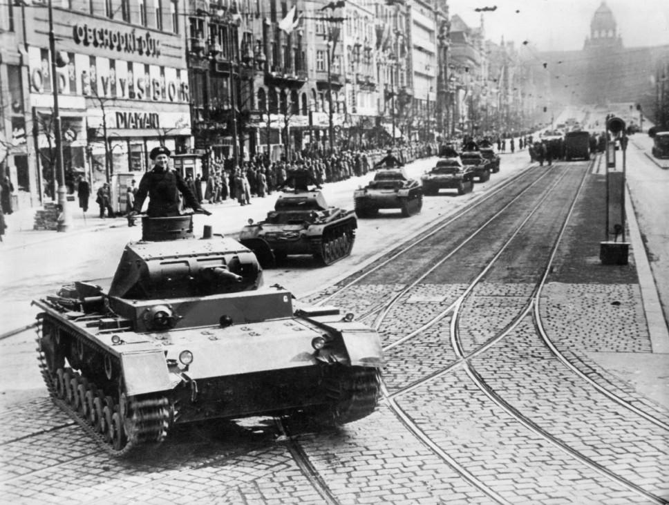Deutsche Parade in Prag, 1939