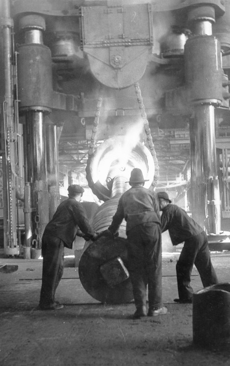 Stahlindustrie in der Tschechoslowakei, 1941