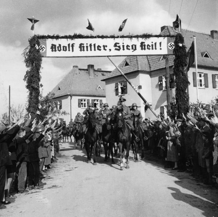 Besetzung des Sudetenlands in der Tschechoslowakei, 1938