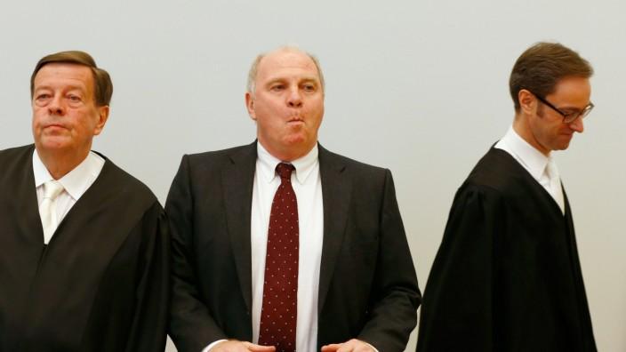 Hoeneß Landgericht München Steuerhinterziehung Urteil
