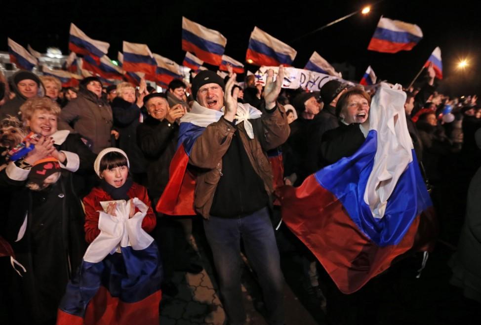 Chronologie der Krim-Krise