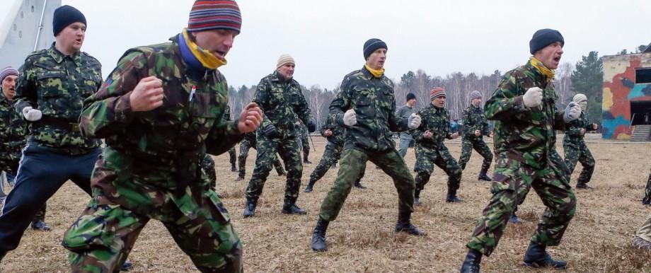 Crisis in Ukraine - Self defense forces
