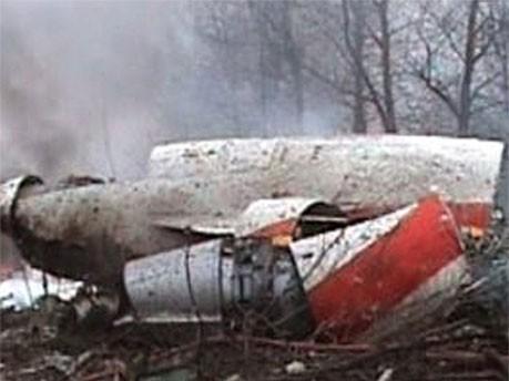 Wrack der Tupolew-Maschine, Reuters