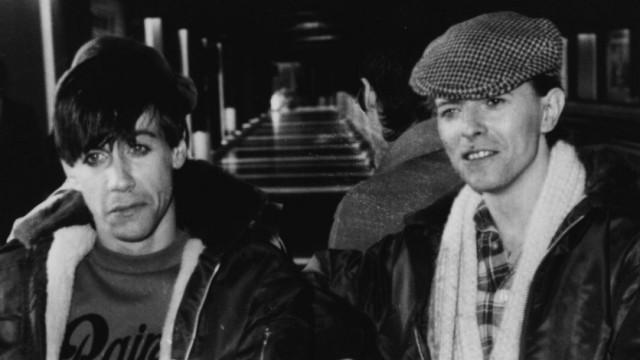 Gentlemen Of Rock; Iggy Pop und David Bowie in Deutschland