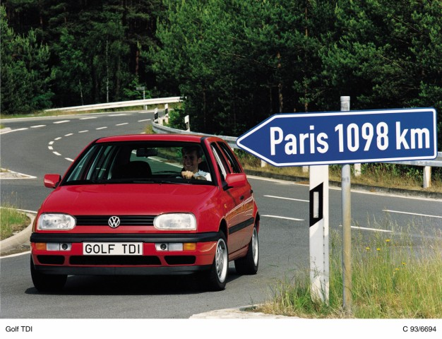 VW Golf III TDI von 1993