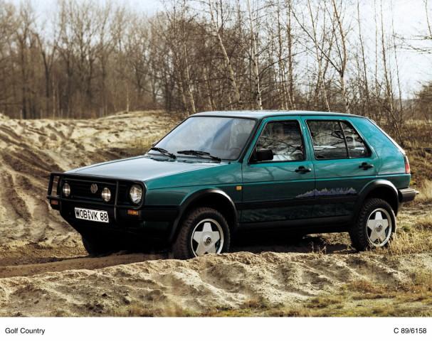 VW Golf Country von 1990
