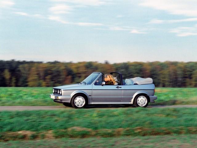 VW Golf I Cabrio von 1989