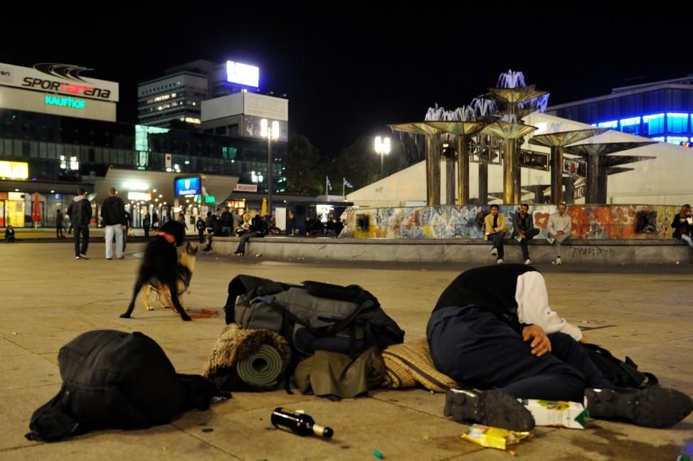 Berlin Alexanderplatz 2010-2013; Alexanderplatz