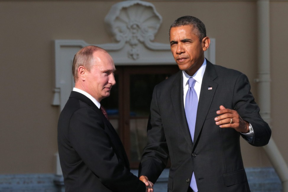 Wladimir Putin und Barack Obama