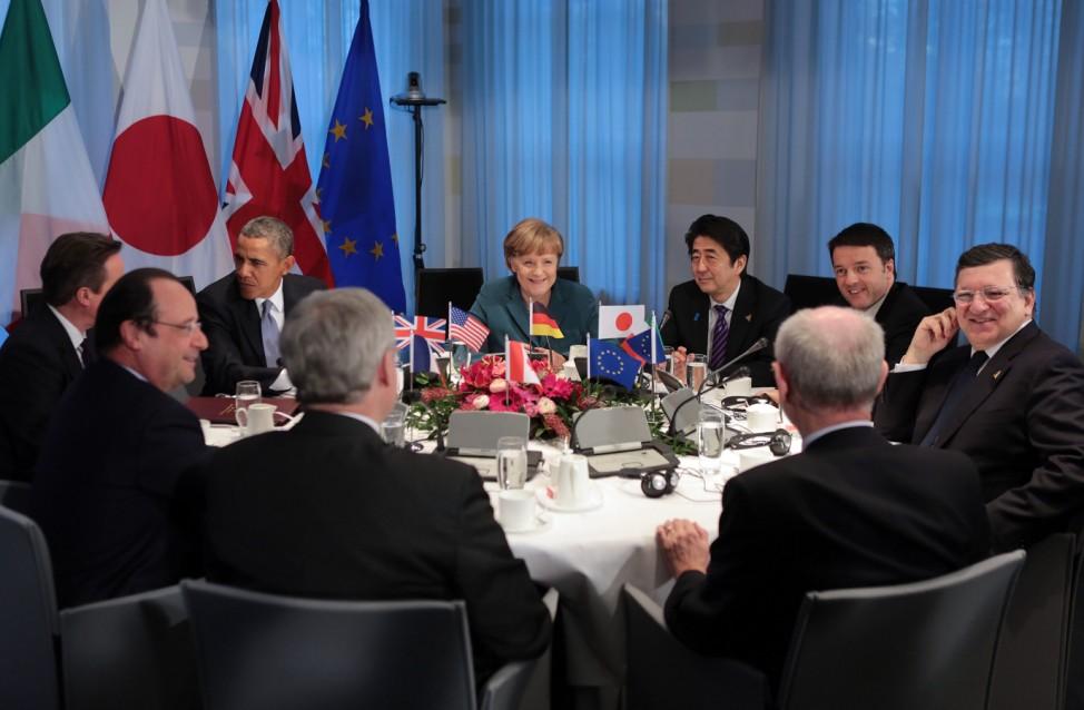 G7-Treffen Den Haag