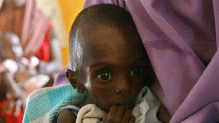 Dürre verursacht Hungersnot im Nordwesten von Kenia, 2006