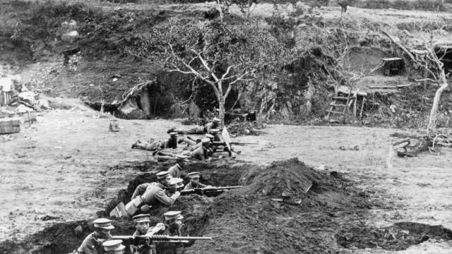 Angriff auf Tsingtau, 1914