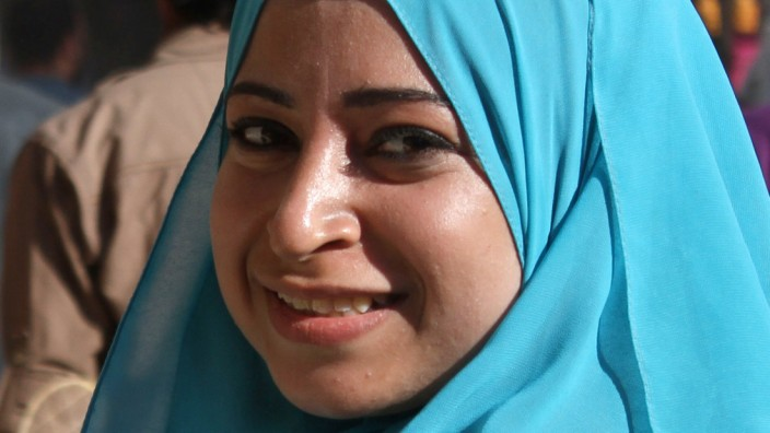 Ägyptische Journalistin Majada Aschraf