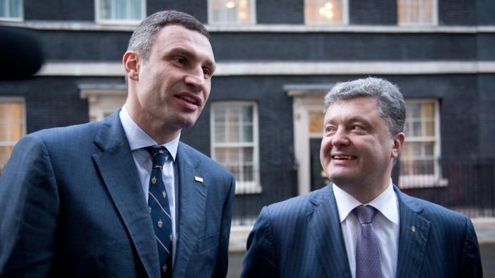 Petro Poroschenko Vitali Klitschko Ukraine
