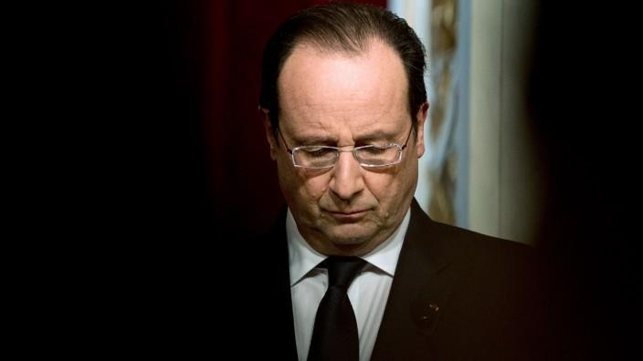 Kommunalwahl in Frankreich: Frankreichs Präsident François Hollande erlebte bei den Kommunalwahlen ein Debakel