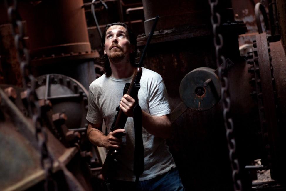 "Christian Bale in ""Auge um Auge"""