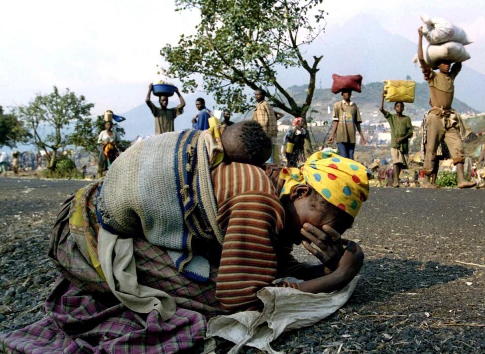 Ruanda Flüchtlinge 1994 Völkermord Genozid