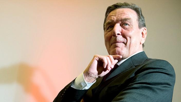 Empfang für Gerhard Schröder
