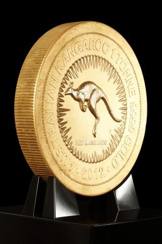 Größte Goldmünze der Welt