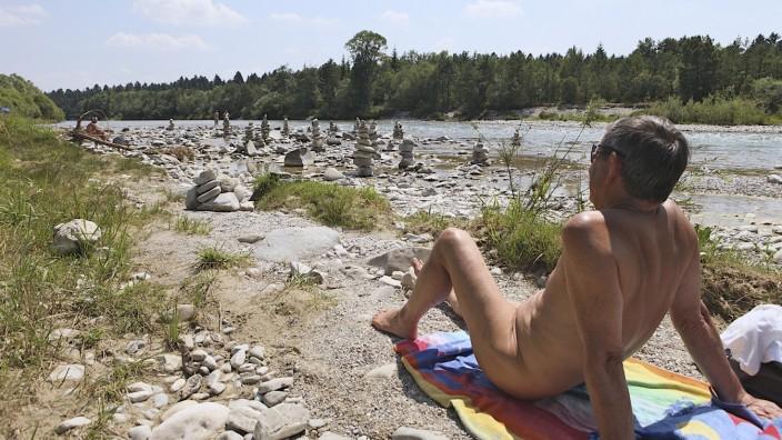 Nacktbaden in München bleibt verboten