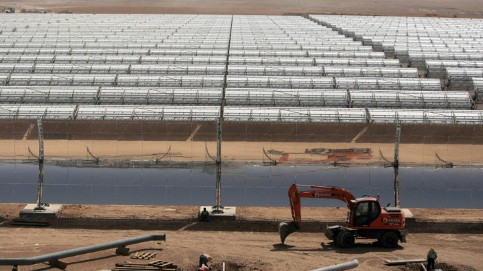 Solarstrom aus der Wüste