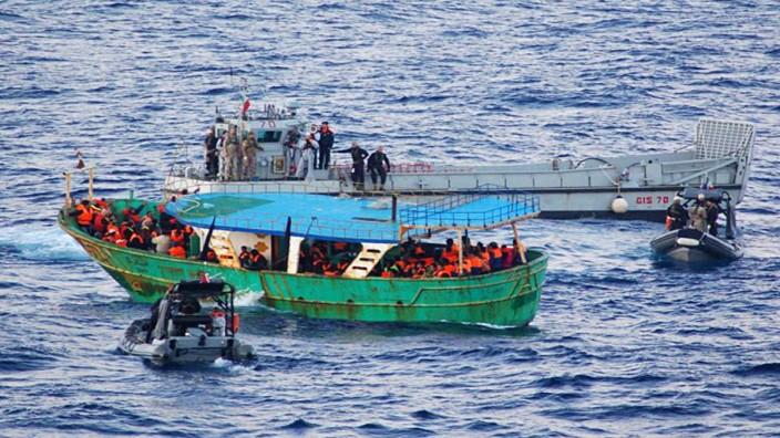 Flüchtlingsströme übers Mittelmeer