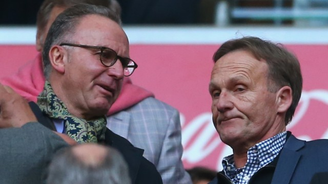 Bayern Muenchen Borussia Dortmund Bundesliga Karl-Heinz Rummenigge