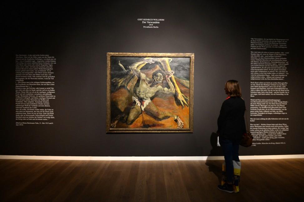 Ausstellung 'Menschenschlachthaus'