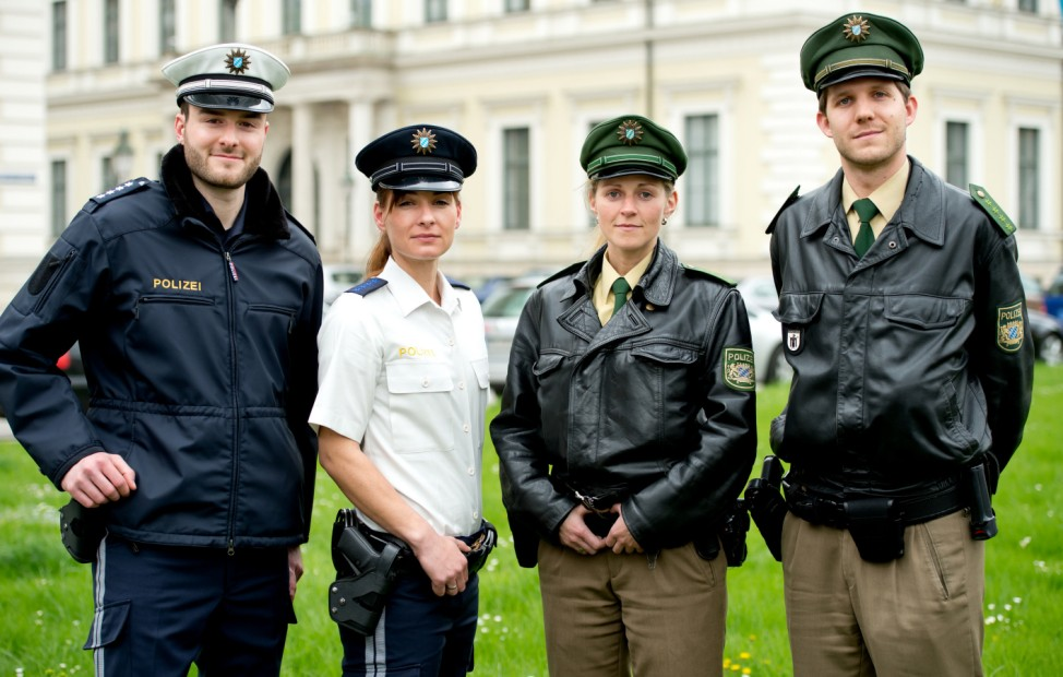 Neue Polizeiuniform in Bayern