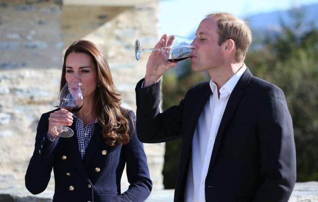 Duke and Duchess of Cambridge visit New Zealand